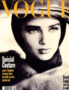 Vogue paris Cover by Dominique Issermann