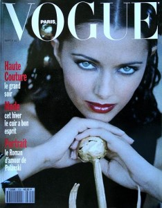 Vogue Paris Cover by Mario Testino